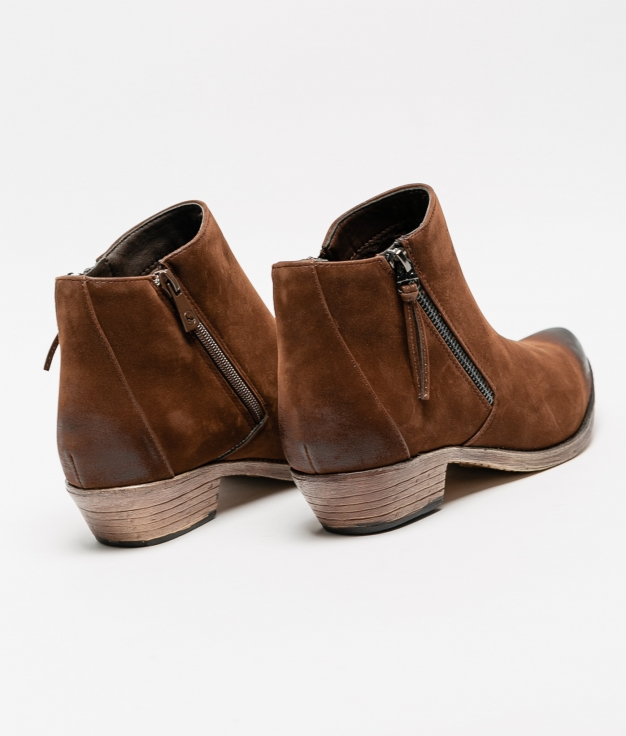 Cuvel Low Boot - Brown