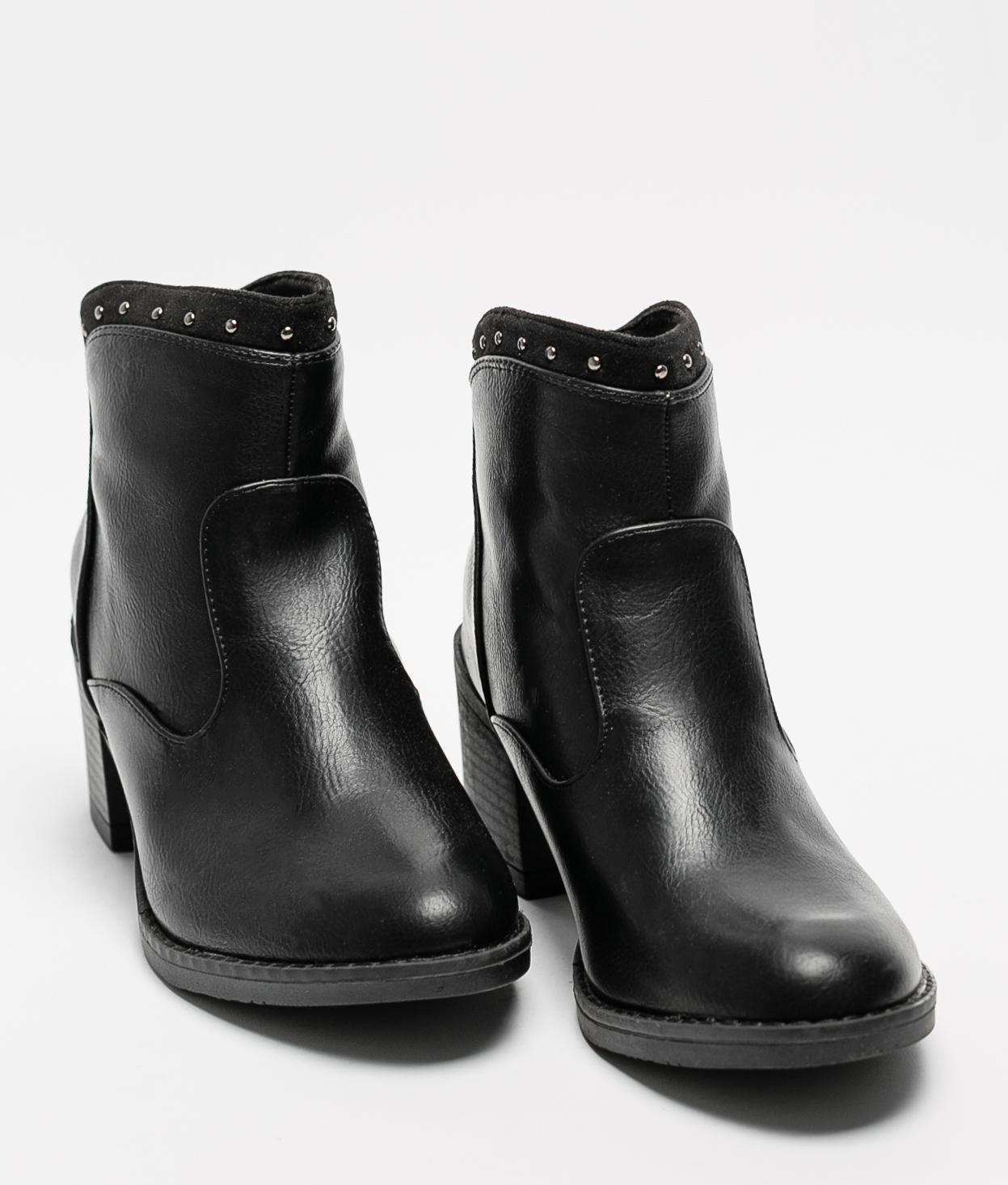 Low Boot Tiusa - Black