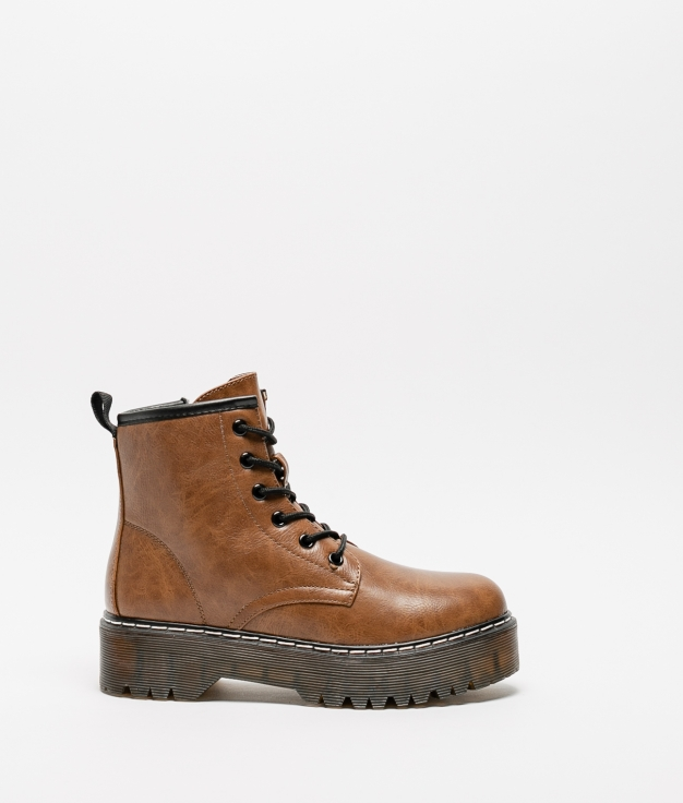 Low Boot Keru - Camel