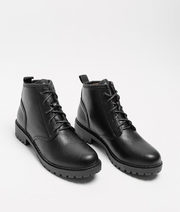 Low Boot Denar - Black