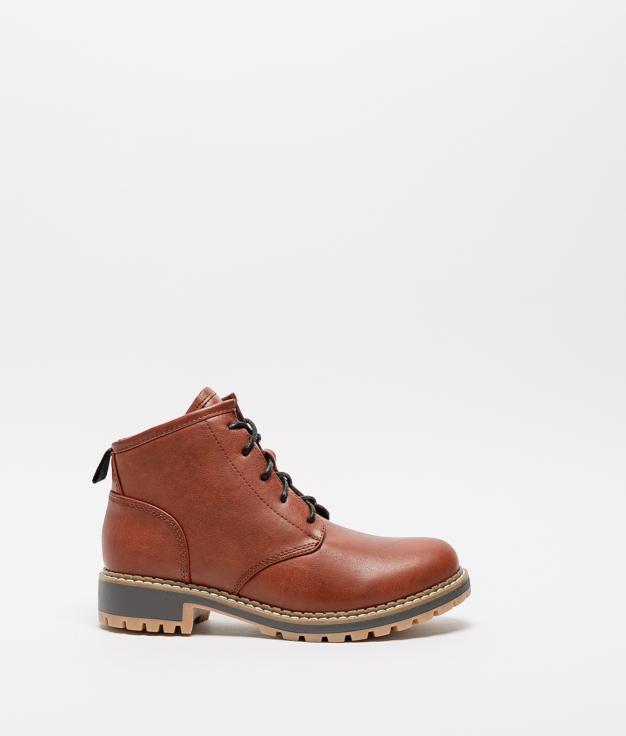 Low Boot Denar - Brick