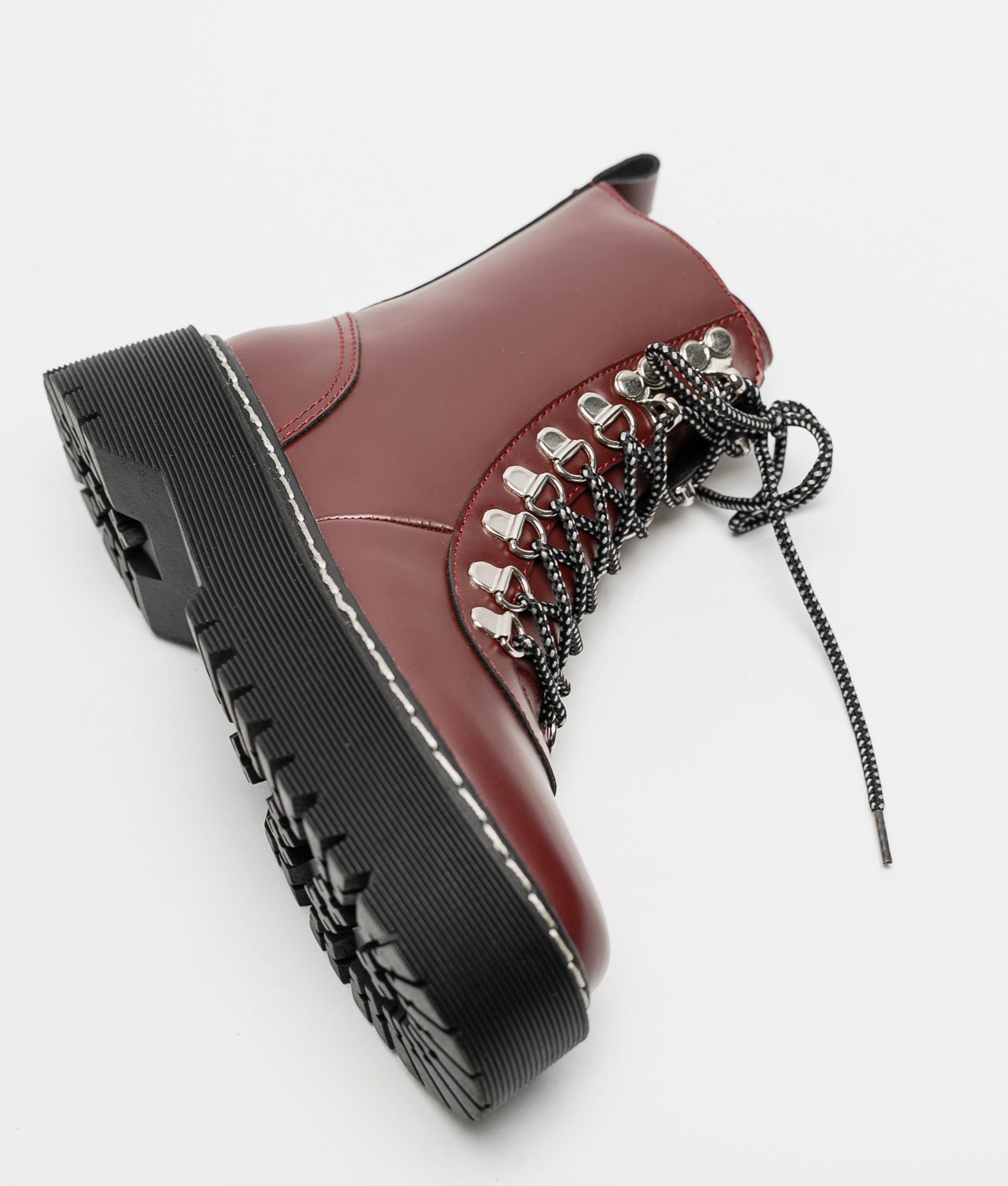 Low Boot Cedela - Maroon