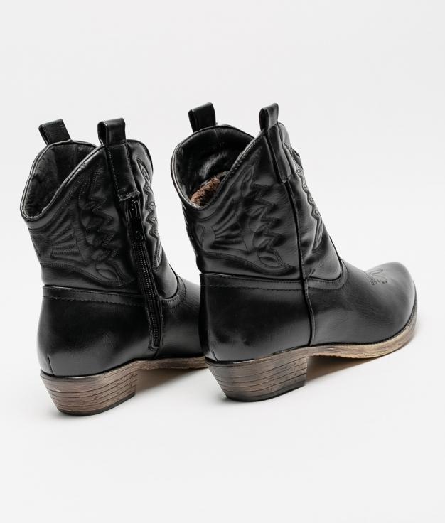 Low Boot Kantin - Black