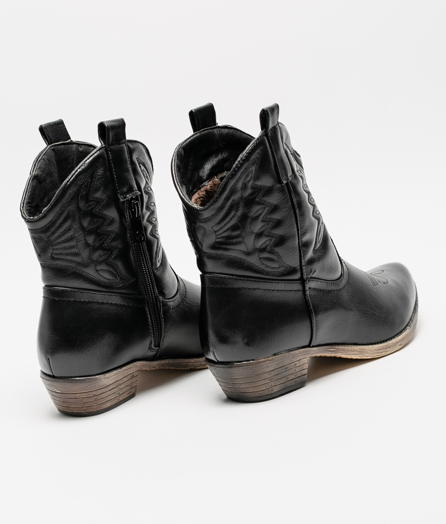 Low Boot Mesite - Black