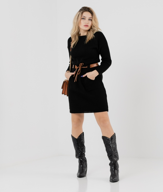 DRESS BUBI - BLACK