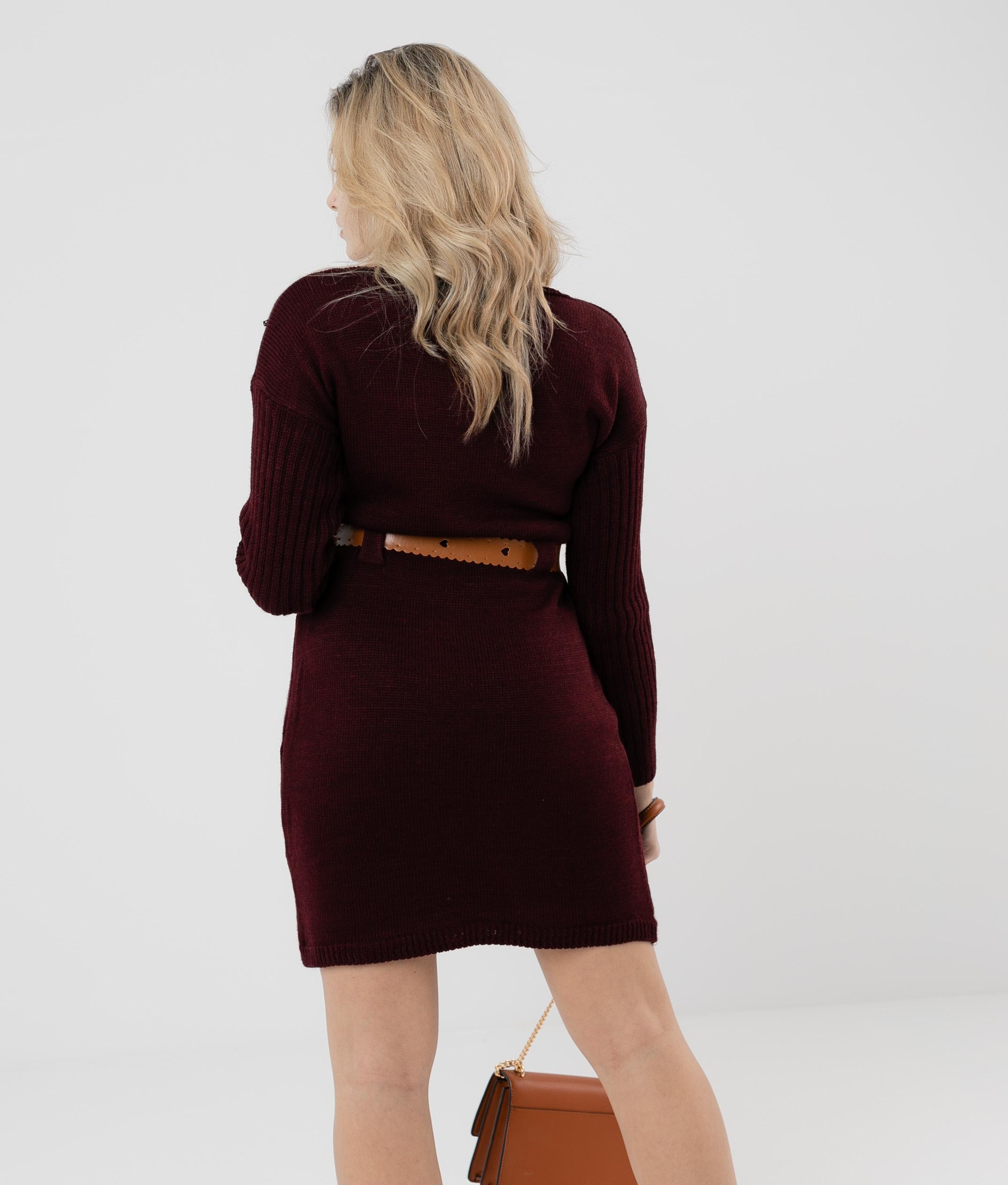DRESS BUBI - MAROON