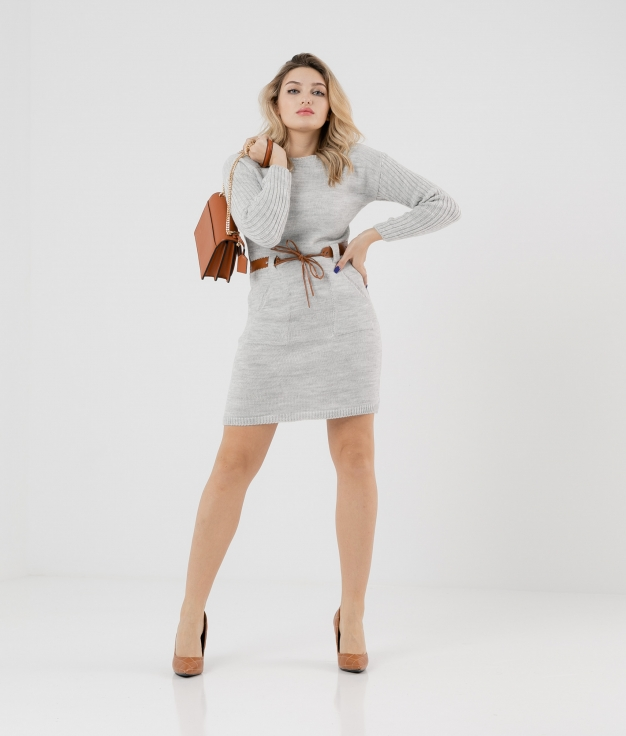 DRESS BUBI - GREY