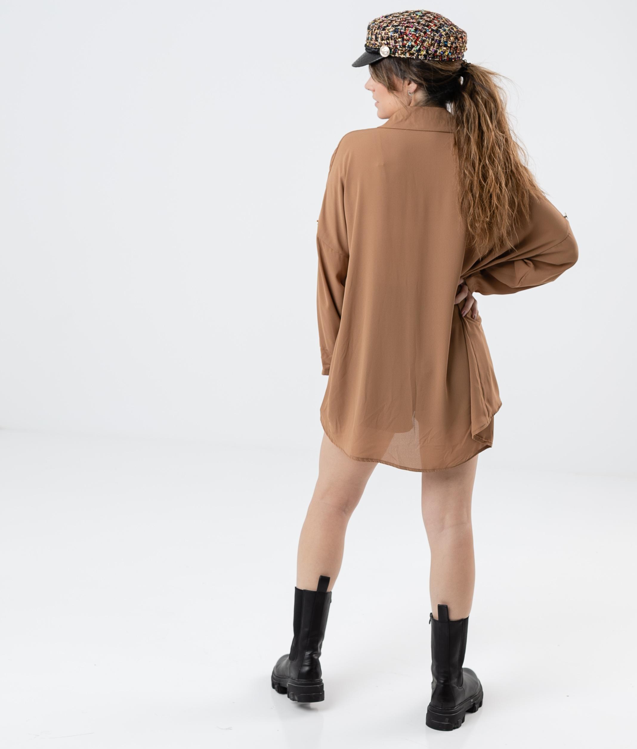 SHIRT BRUNA - CAMEL