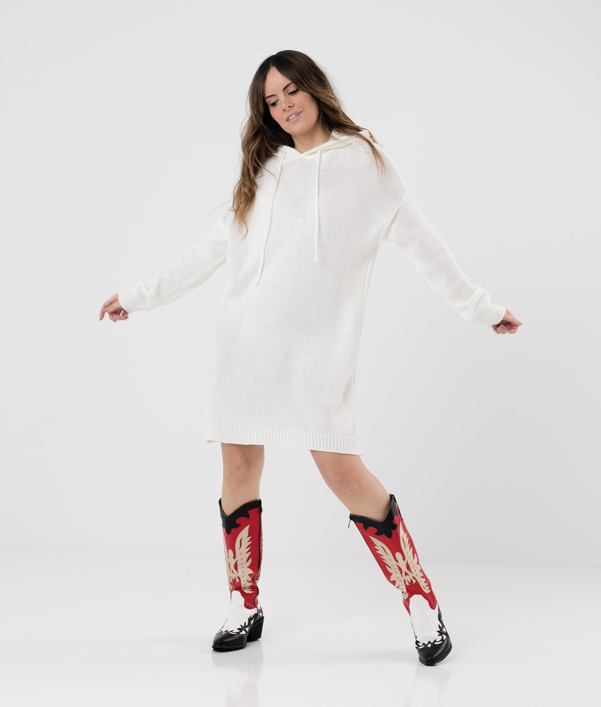 DRESS BERA - WHITE