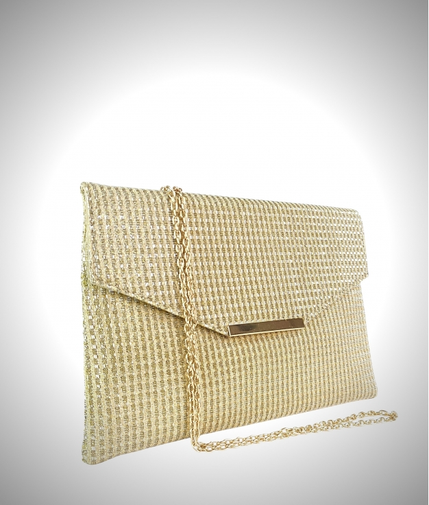 Bolso de mano Secret - Oro