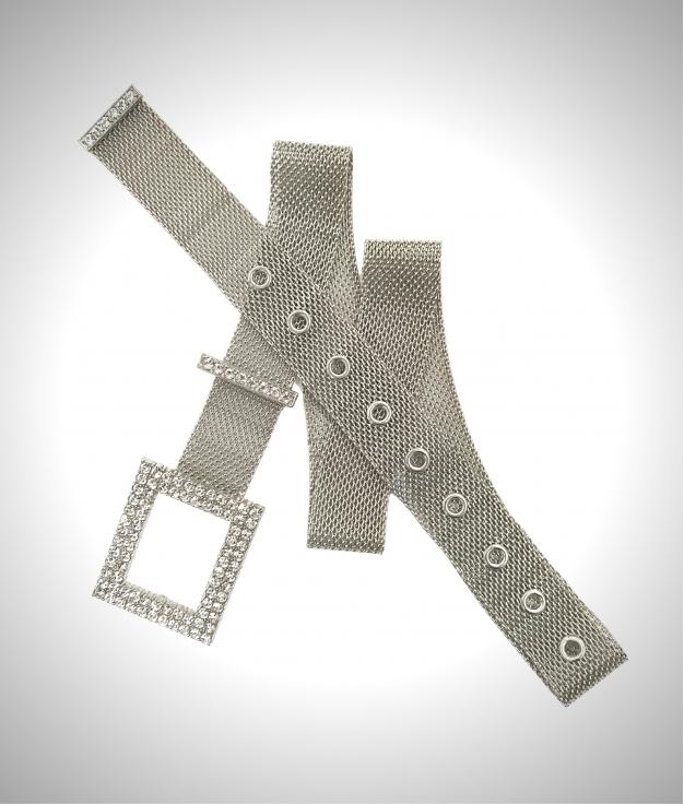 Shi belt - silver