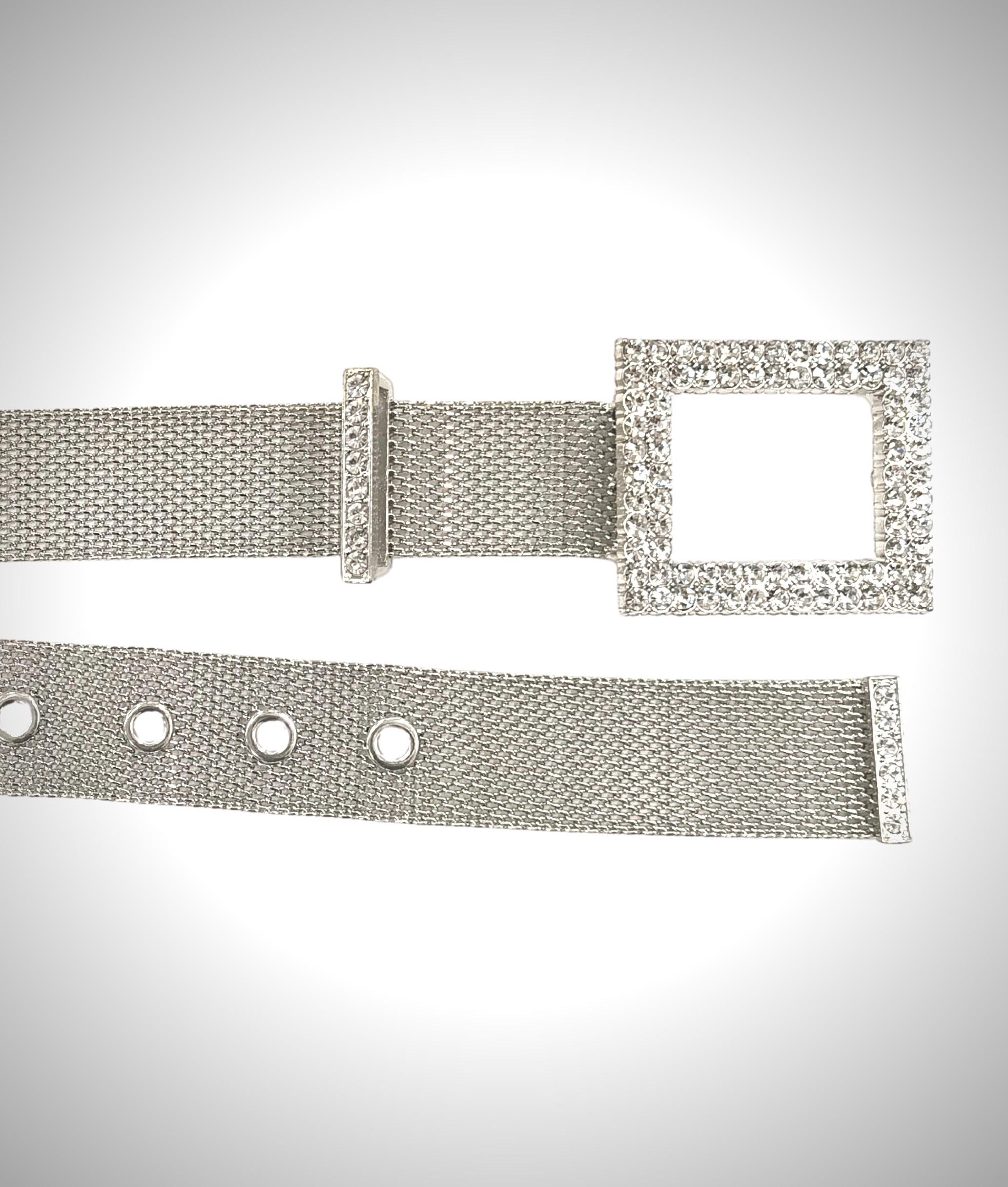 Cinturón Shi - plata