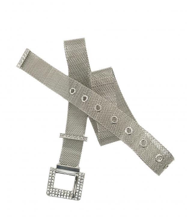 Cinturón Chick - plata