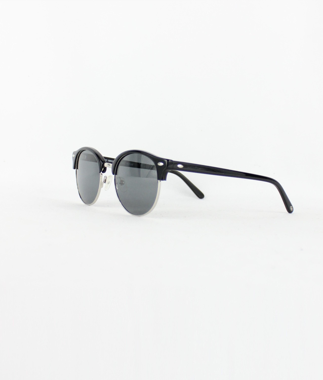 SUNGLASSES BERTA - BLACK/SILVER