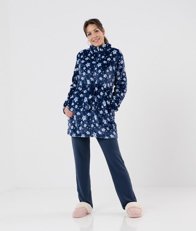 Coat Abuk- Blue