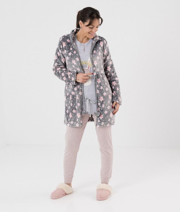 Coat Abuk- Grey