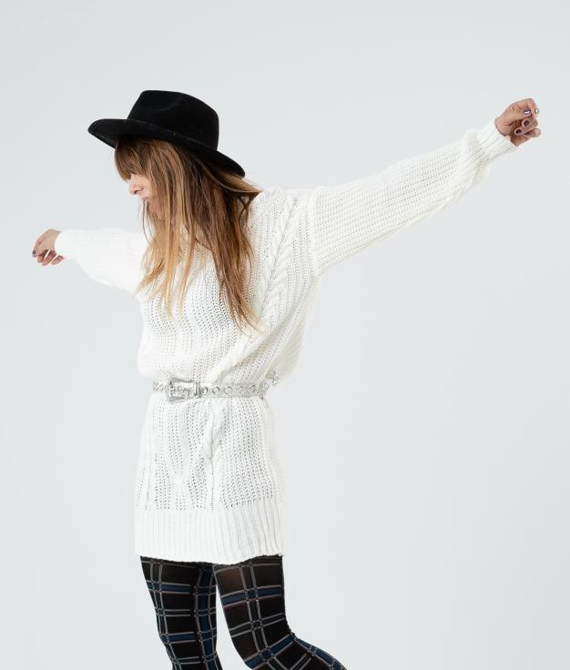 DRESS DAREL - WHITE