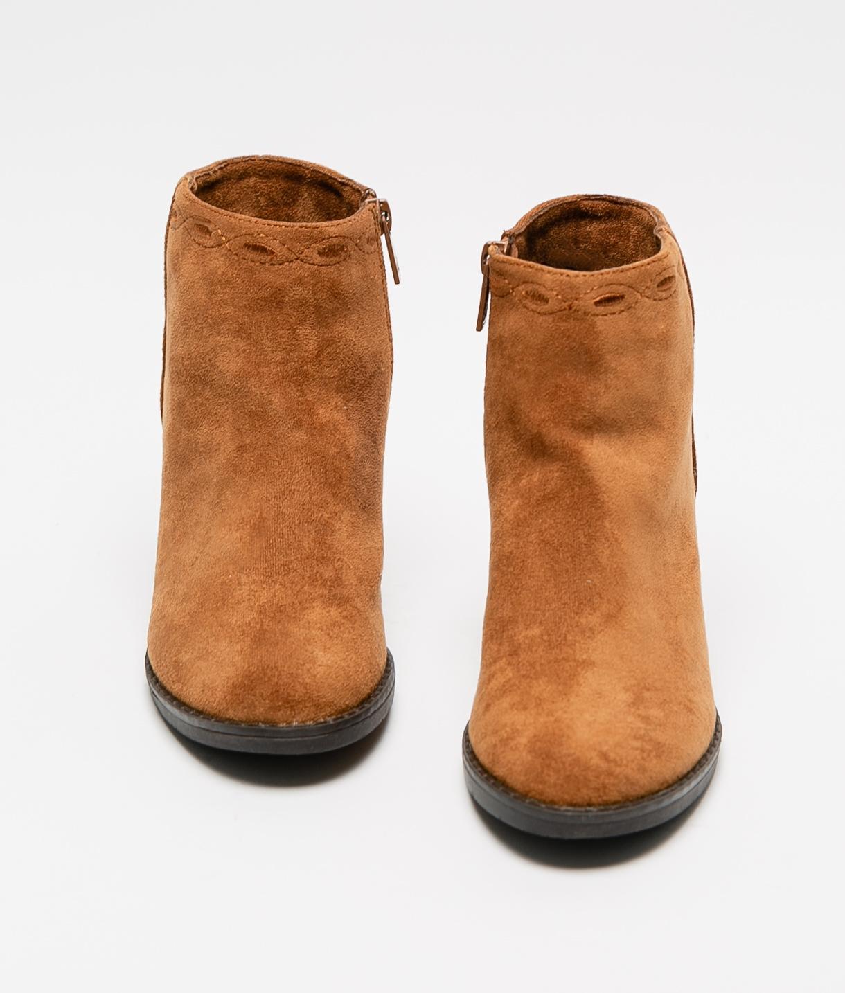 Low Boot Golin - Camel