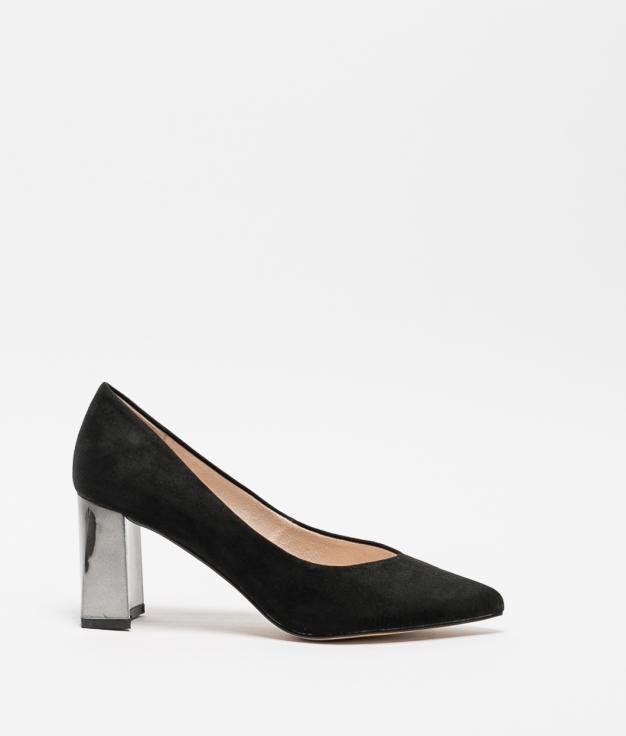 Zapato de Tacón Kiyu - Negro