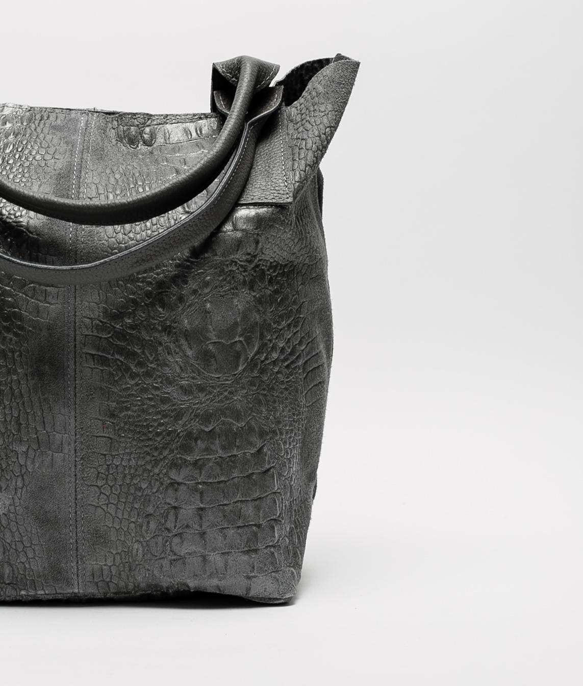Elena leather bag - black
