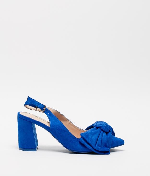 Sapato de Salto Navet - Azul Klein