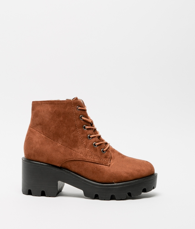 Low Boot Sely - Camel