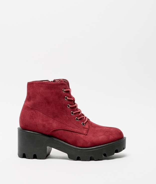 Low Boot Sely - Maroon