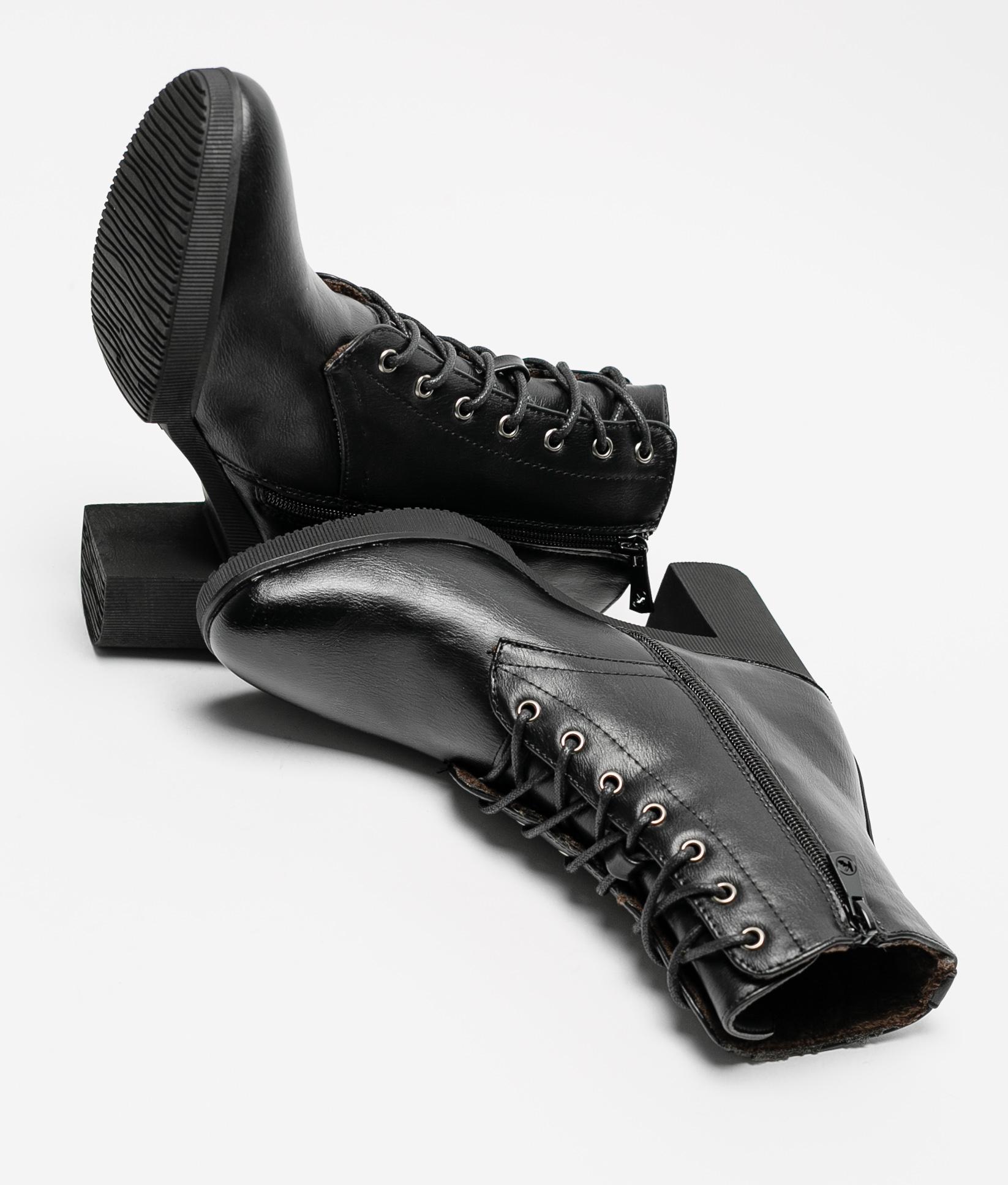 Bota Baja Garet - Negro