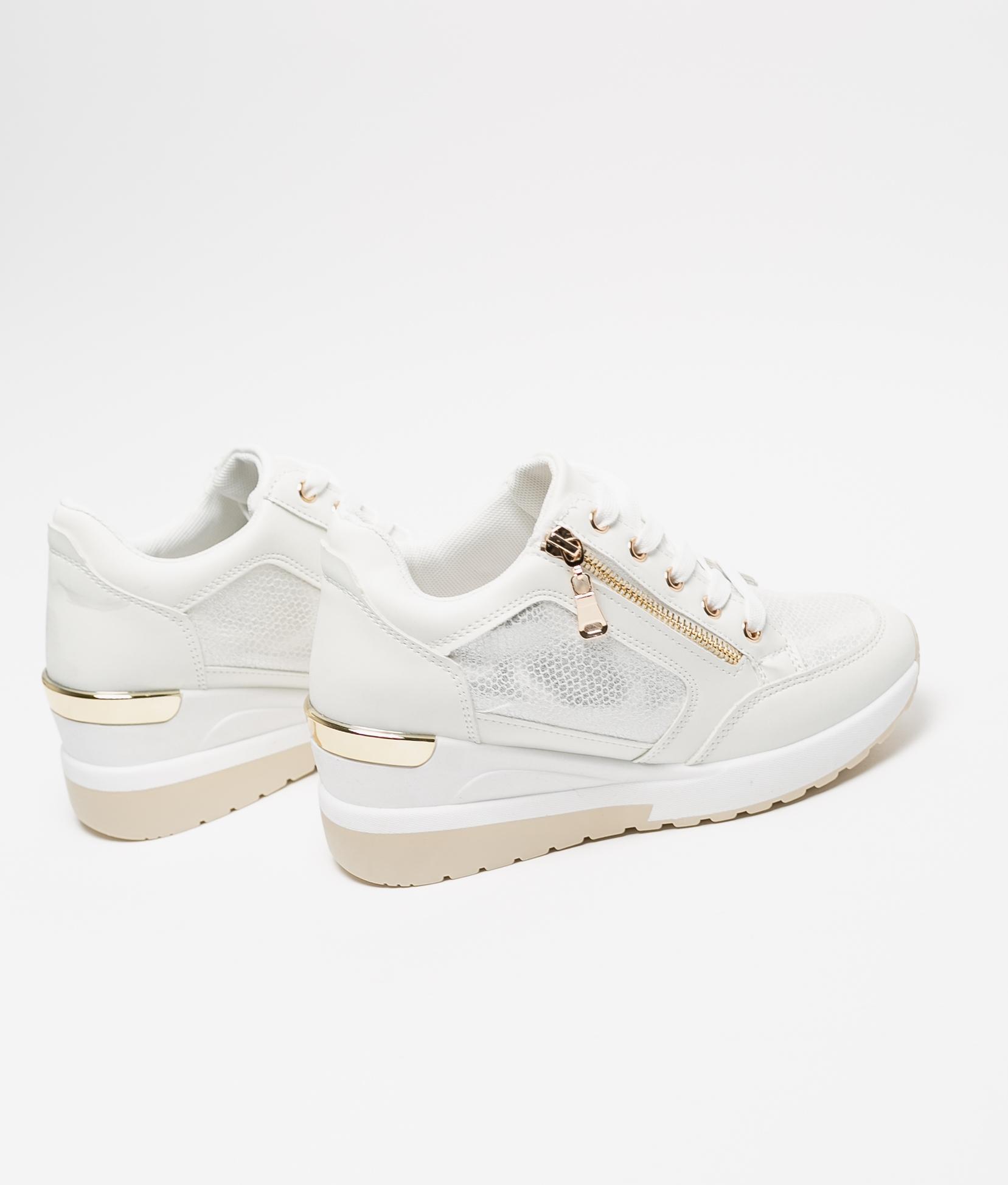 Sneakers Braila - Blanco/Oro