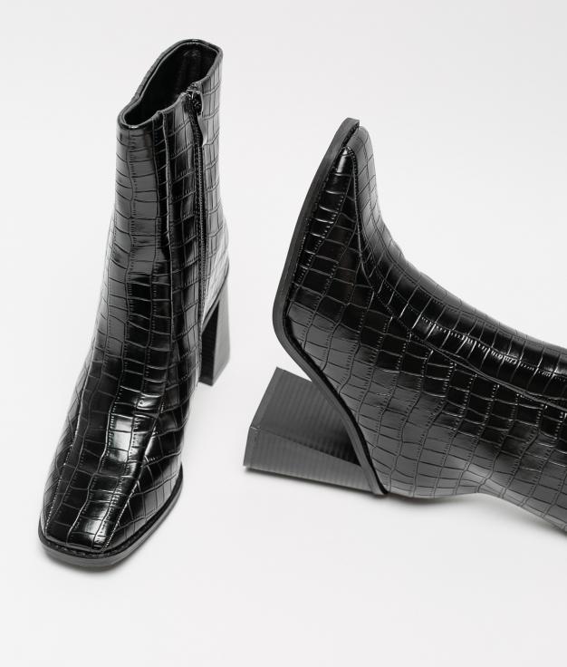 Low Boot Calit - Black