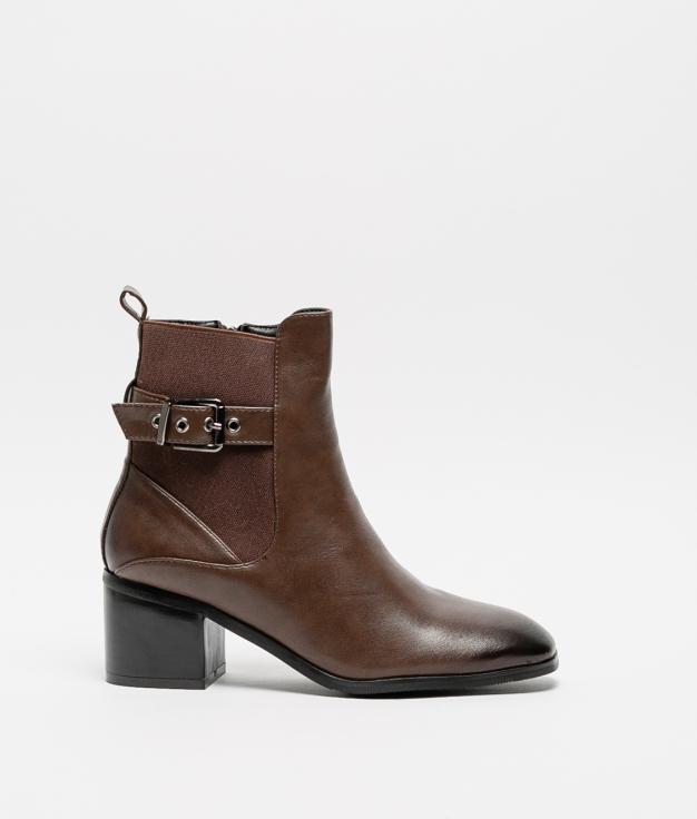 Low Boot Klenda - Brown