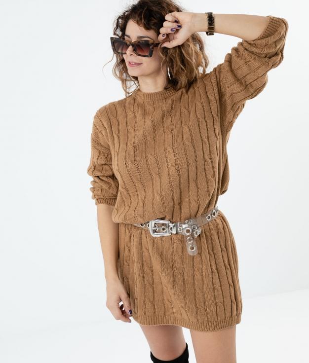 VESTIDO UKARA - CAMEL