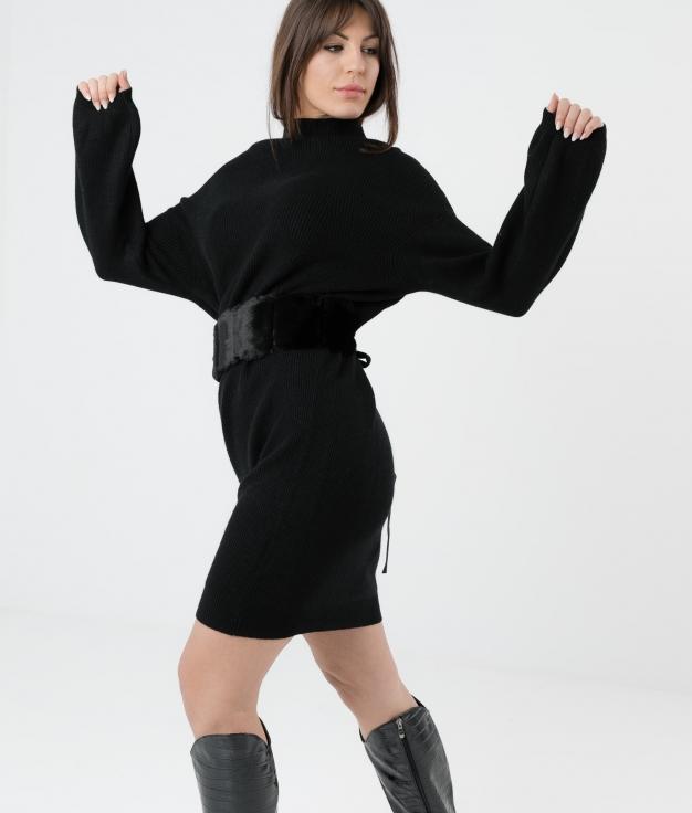 Robe Plixe - Noir