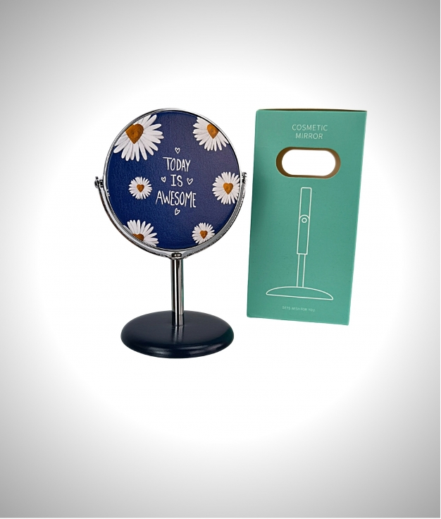 Espejo cosmetico Margarita - bleu