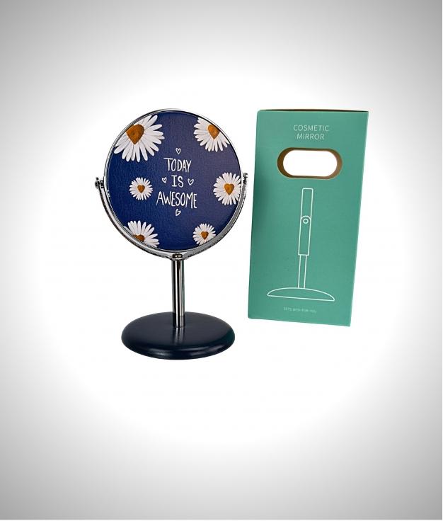 Espejo cosmetico Margarita - blu