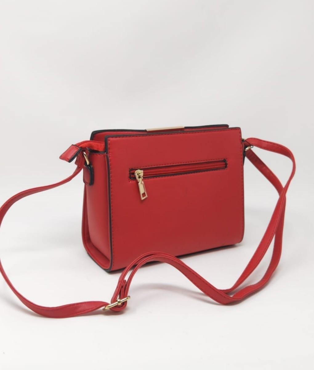 Veva bag - red