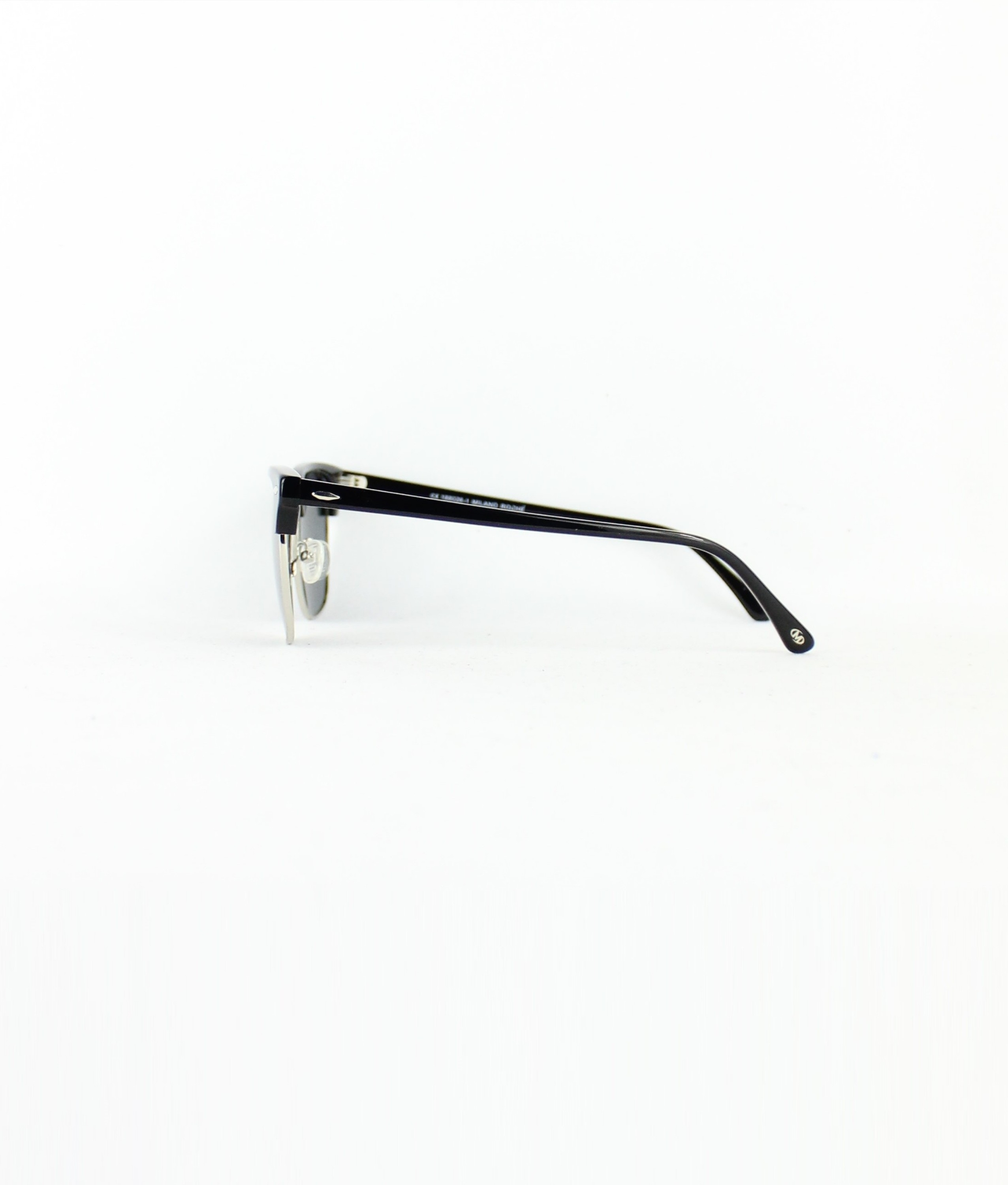 SUNGLASSES TOM - BLACK/SILVER