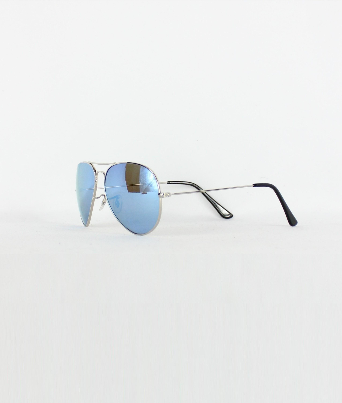 SUNGLASSES RIA - BLUE/SILVER