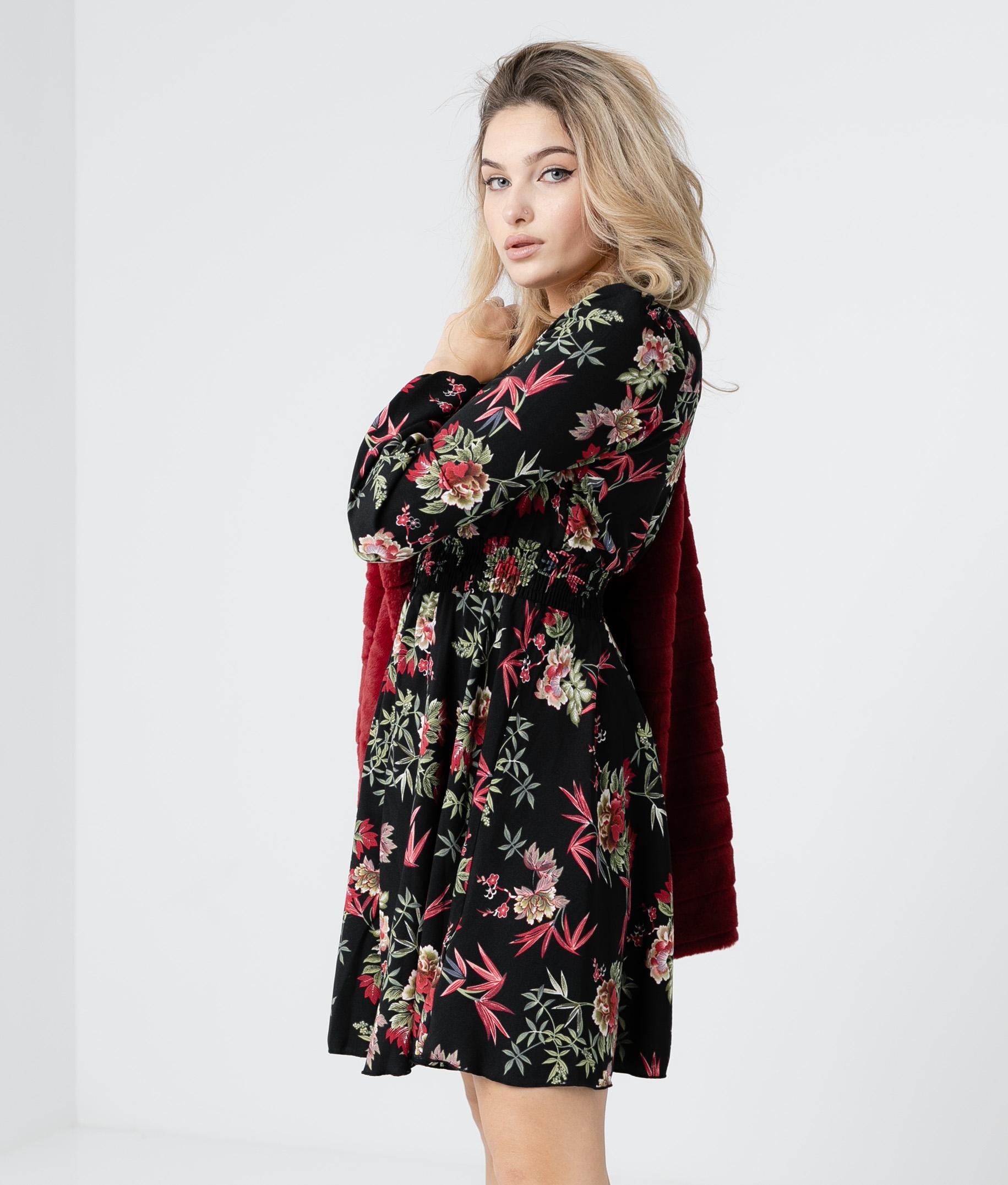 DRESS LOSUR - BLACK