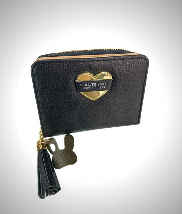 Cartera Youth - preto