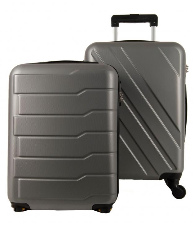 Suitcase Londre 2 Pieces - Silver
