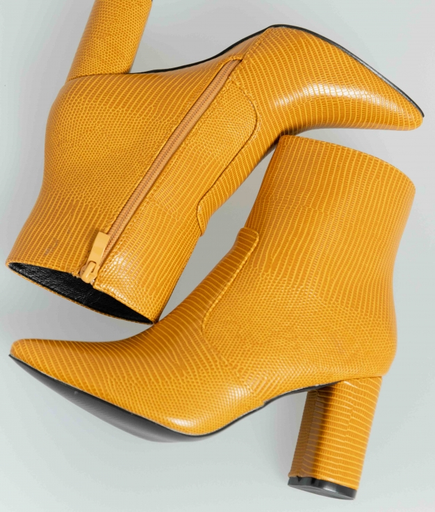 Low Boot Delany - Yellow