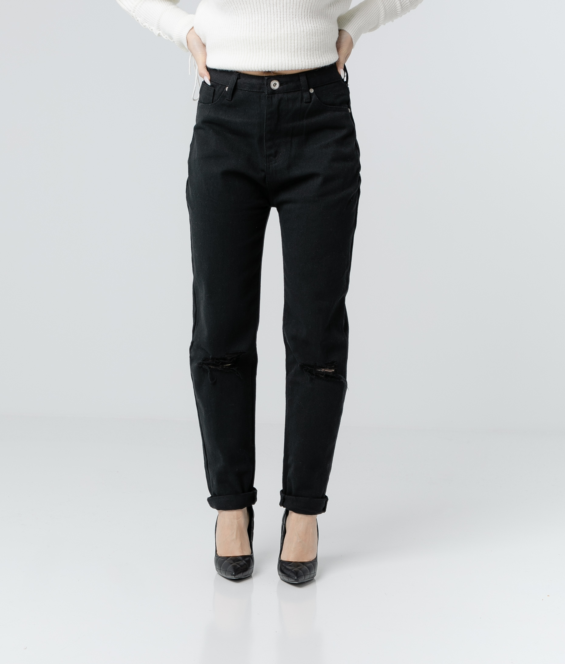 RENDA TROUSERS - BLACK