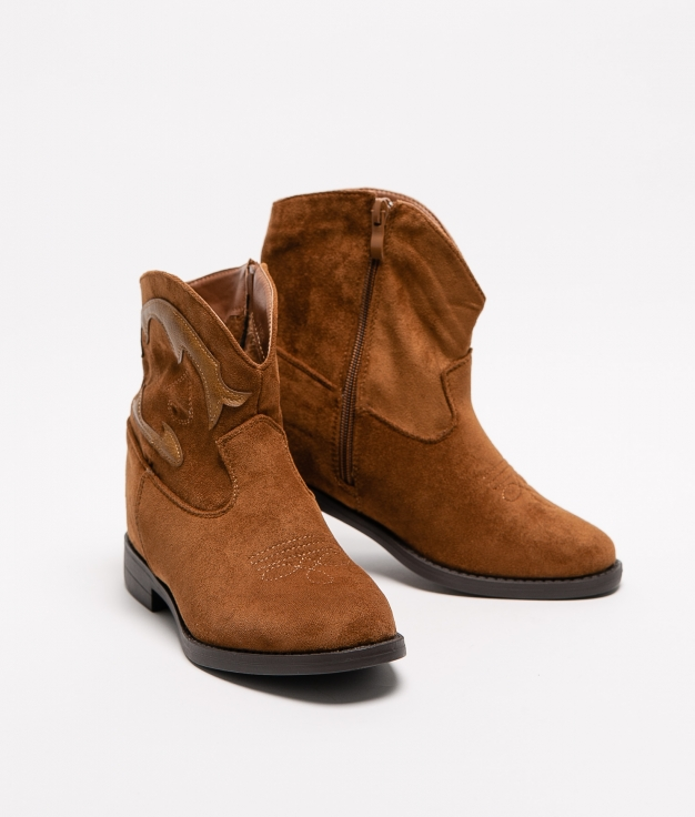 Low Boot Mofer - Camel