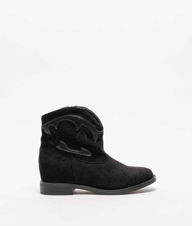 Low Boot Mofer - Black