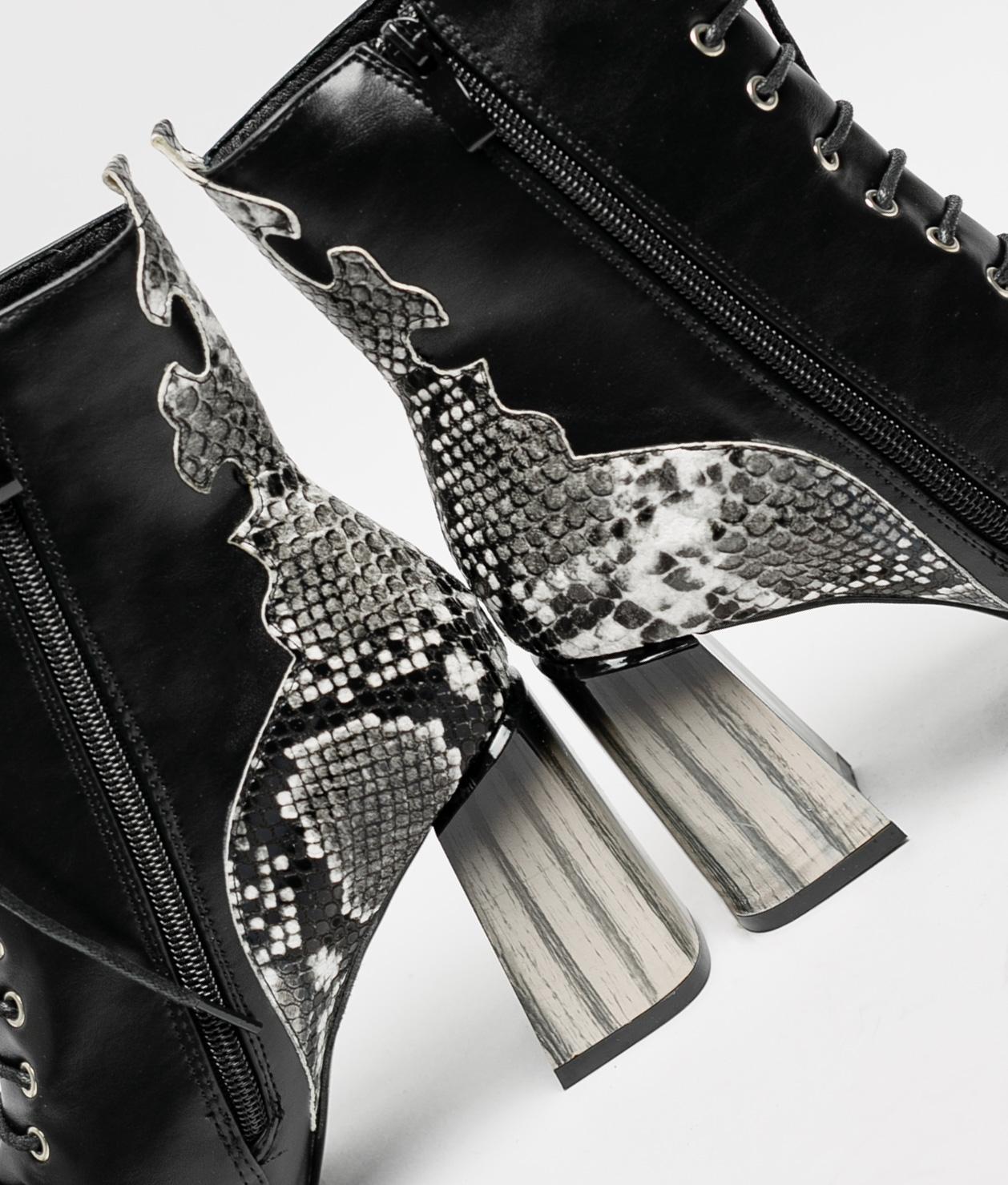 Low Boot Endora - Black