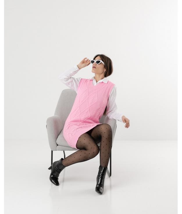 KOLET DRESS - PINK GUM