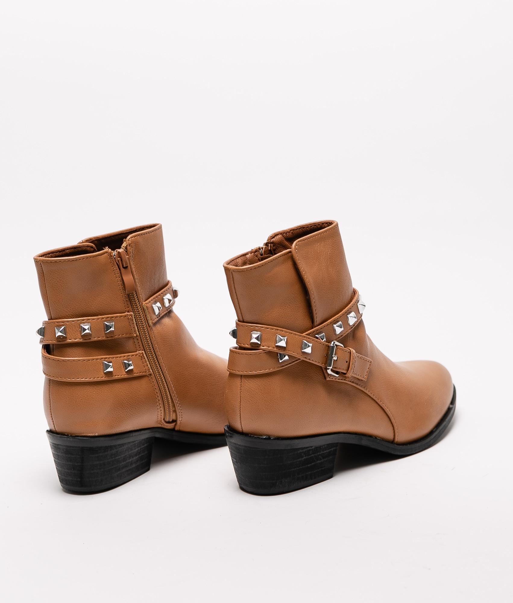Low Boot Plint - Camel