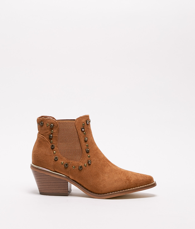 Low Boot Leot - Camel