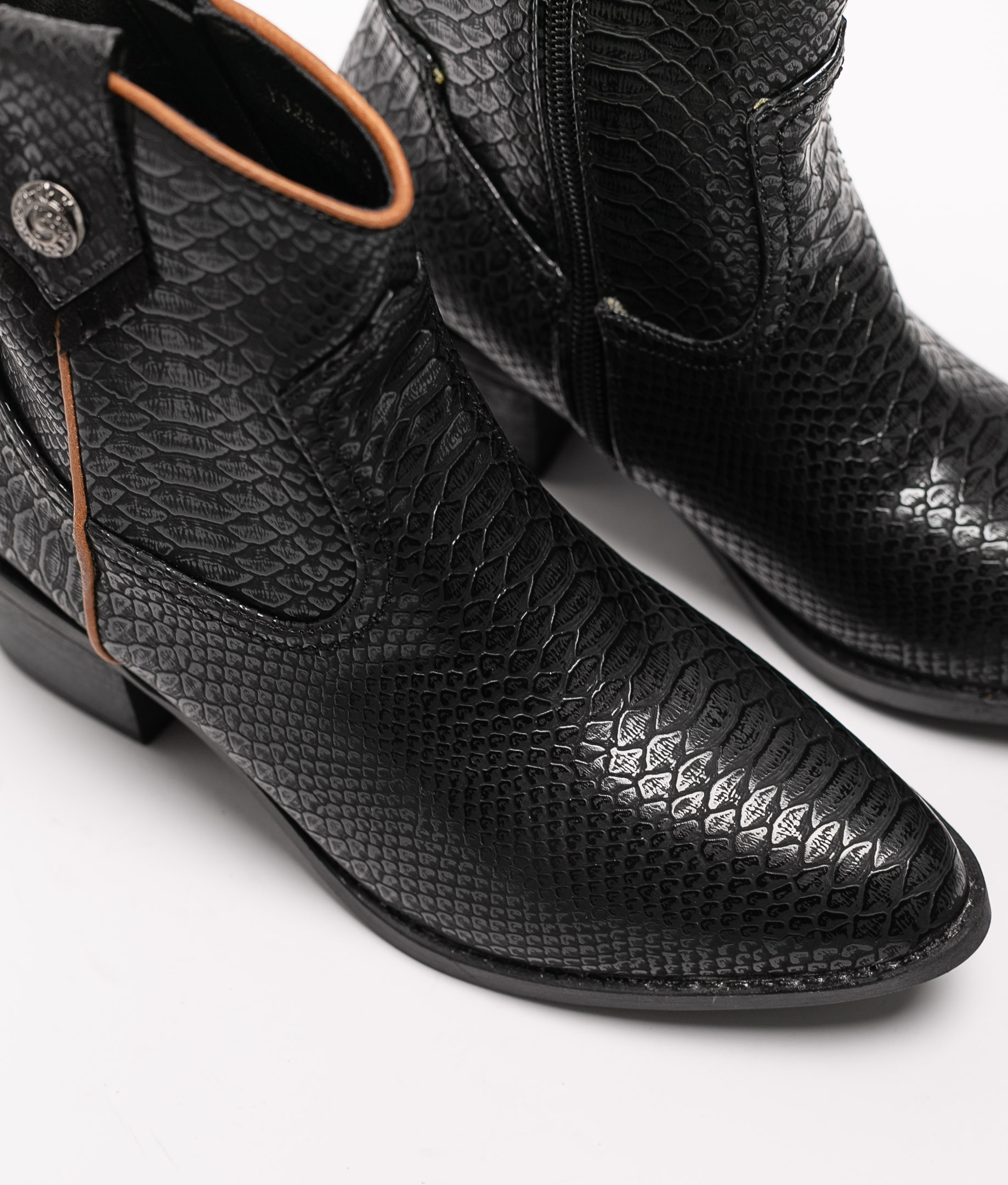 Munch Low Boot - Black